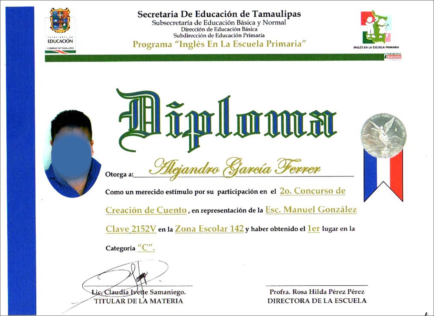 Etiquetas  Diploma