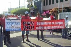 Caminhada pela PEC 300 em Aracaju