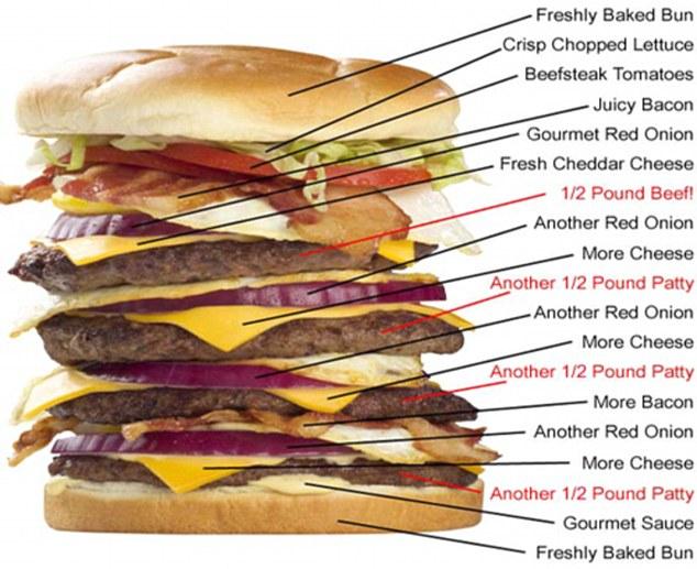 the heart attack grill menu. heart attack grill menu.