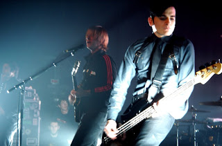 Paul Banks y Carlos Dengler, de Interpol