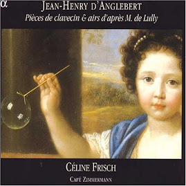D'Anglebert - Pieces de clavecin & airs d'apres M. de Lully - Frisch, Cafe Zimmermann 2CD (Ape)