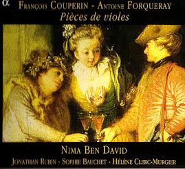 Couperin-Forqueray - Pieces de Violes Nima Ben David (Ape)