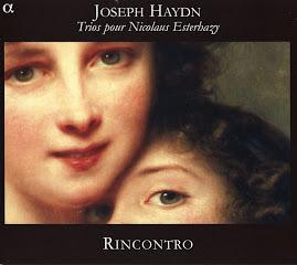 Haydn - Trios pour Esterhazy - Rincontro (Ape)