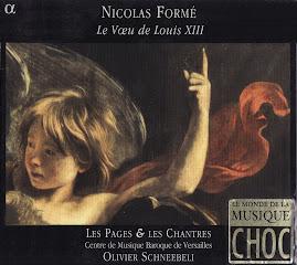 Forme - Le Voeu de Louis XIII - Les Pages et les Chantres, Olivier Schneebeli (Ape)