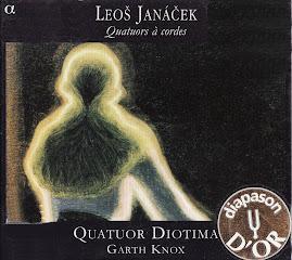 Janácek - Quatuors N°1 & 2 - Quatuor Diotima, Knox (Ape)