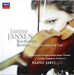 Beethoven, Britten - Violin Concertos - Janine Jansen (wav)