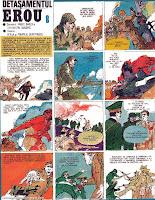 revista cutezatorii benzi desenate detasamentul erou pompiliu dumitrescu ofelia comics romania diaconu barza razboi mondial 1944