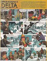 revista cutezatorii benzi desenate operatiunea delta valentin tanase radu vintilescu ion costin comics romanian romania