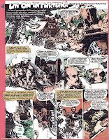 revista cutezatorii benzi desenate bd un om iin furtuna sorin anghel desene comics romanian