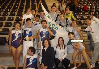 Os ginastas do Farense