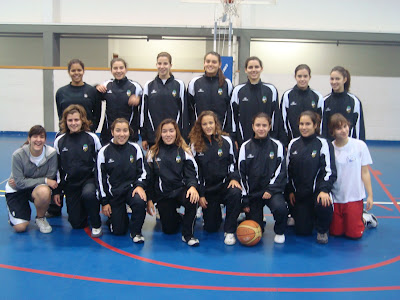 Basquetebol Júniores Femininas SCF