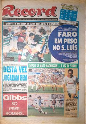 Faro em peso no São Luís