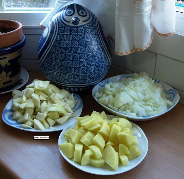Cocinar es vivir y bordar tambi n crema de lombarda red for Cocinar lombarda