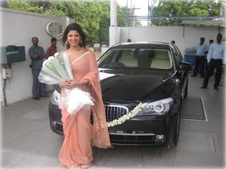Indian actress Rambha Wedding Pictures