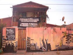 Mural en el  Frontis del CSA