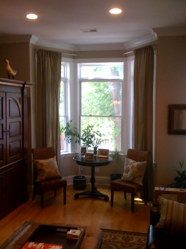 Bay Window Curtains And Blinds Ideas American HWY