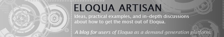 Eloqua Artisan