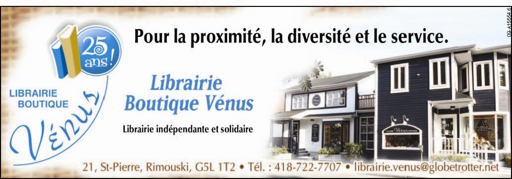 Librairie Boutique Vénus