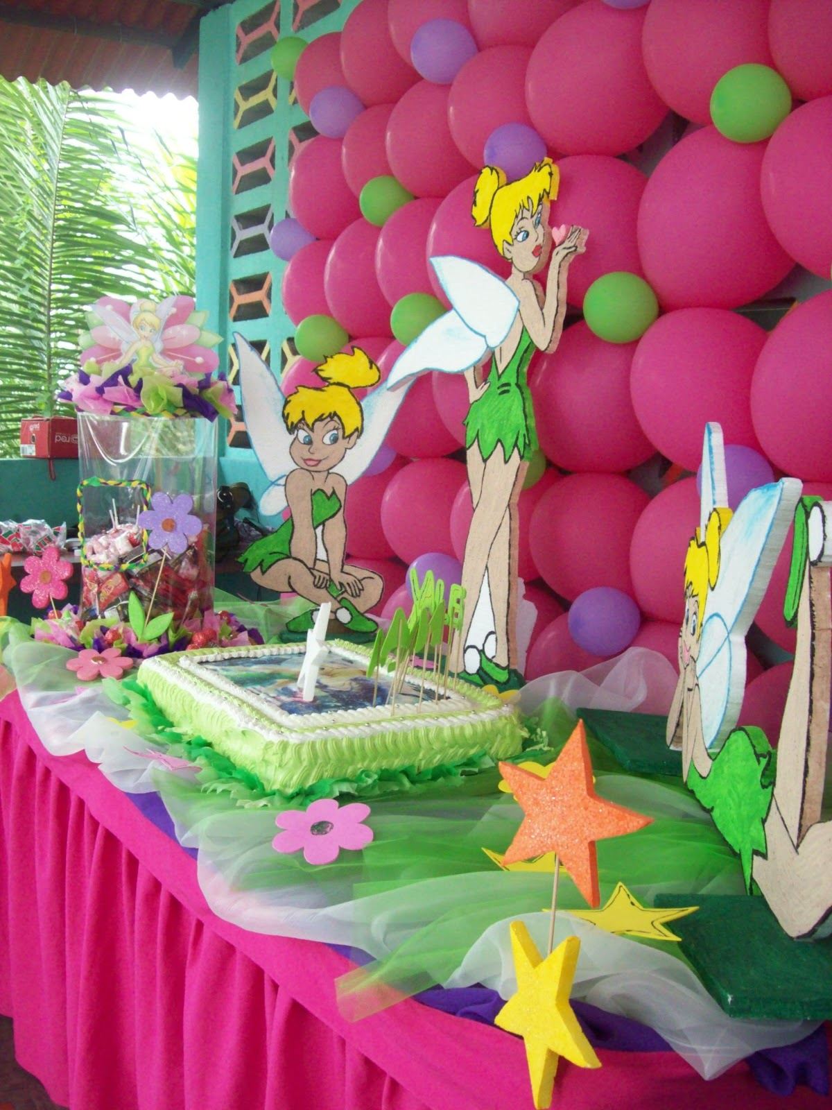 100% Fiestas y Algo Ms!: Decoracin Fiesta Campanita