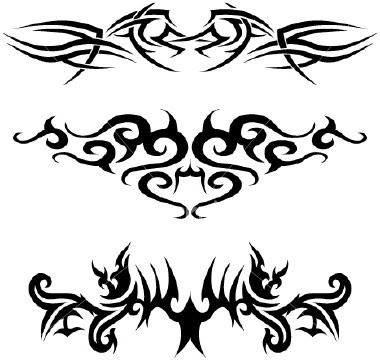 Tribal Tattoo Design - Hard