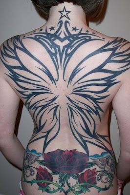 tribal tattoo design woman