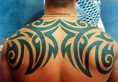 Santana tribal tattoo