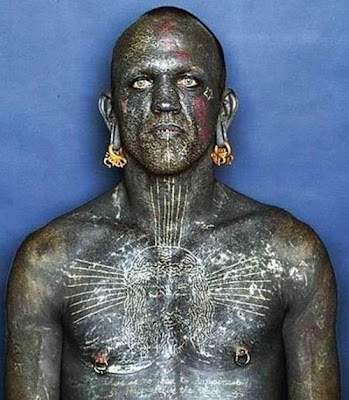 Worlds Most Tattooed Man :: Wtf Pictures most tattooed man on the planet