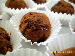Trufe cu ciocolata