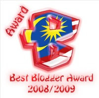 Award Dari Putu Bambu..TQ TQ TQ