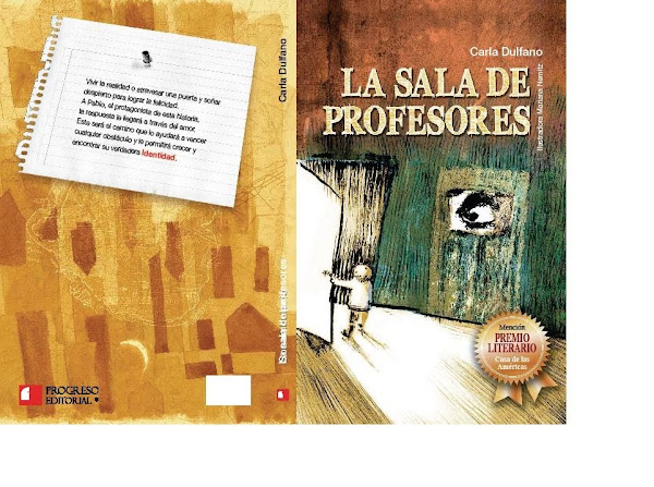 La sala de profesores Editorial Progreso (Mexico). Novela premiada por Casa de las Americas de Cuba