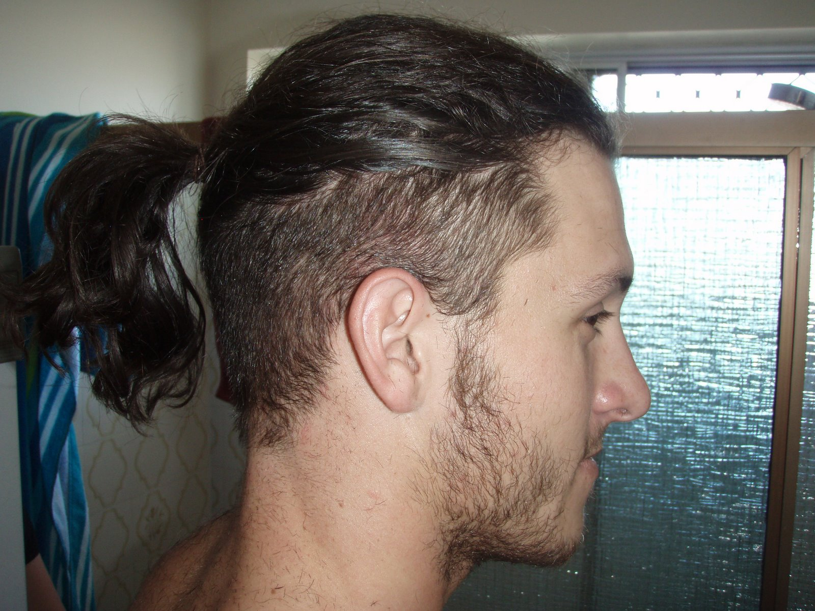 Guys with ponytails bodybuilding forums what do you guys think about it specifically an undercut ponytail i rocked one during the 90s and thinking about growing it back urmus Images