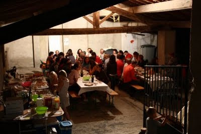 Banquet républicain  à Pomy