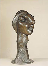 Picasso, tete de femme