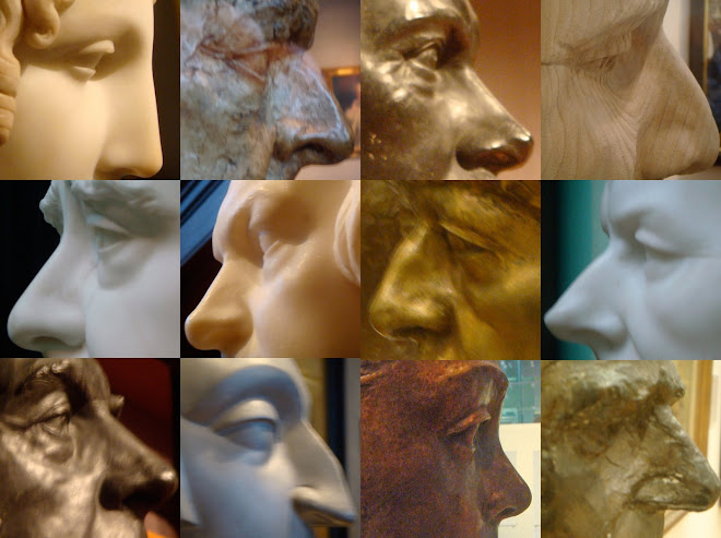 Eyes and noses from NPG for reference