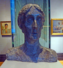 head of Virginia Woolf