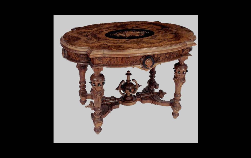 Con sabor Inglés: Victoriano, estilo refinado de muebles y arte Inglés.