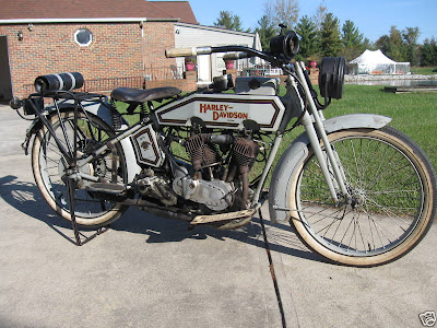Put together old Harley - mostly NOT a 1915 parts