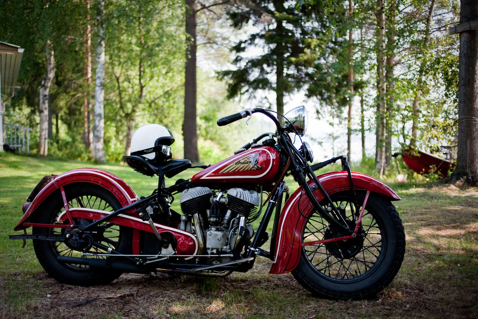 Belinfante Indian Motorcycles 1936 Indian Chief In Finland