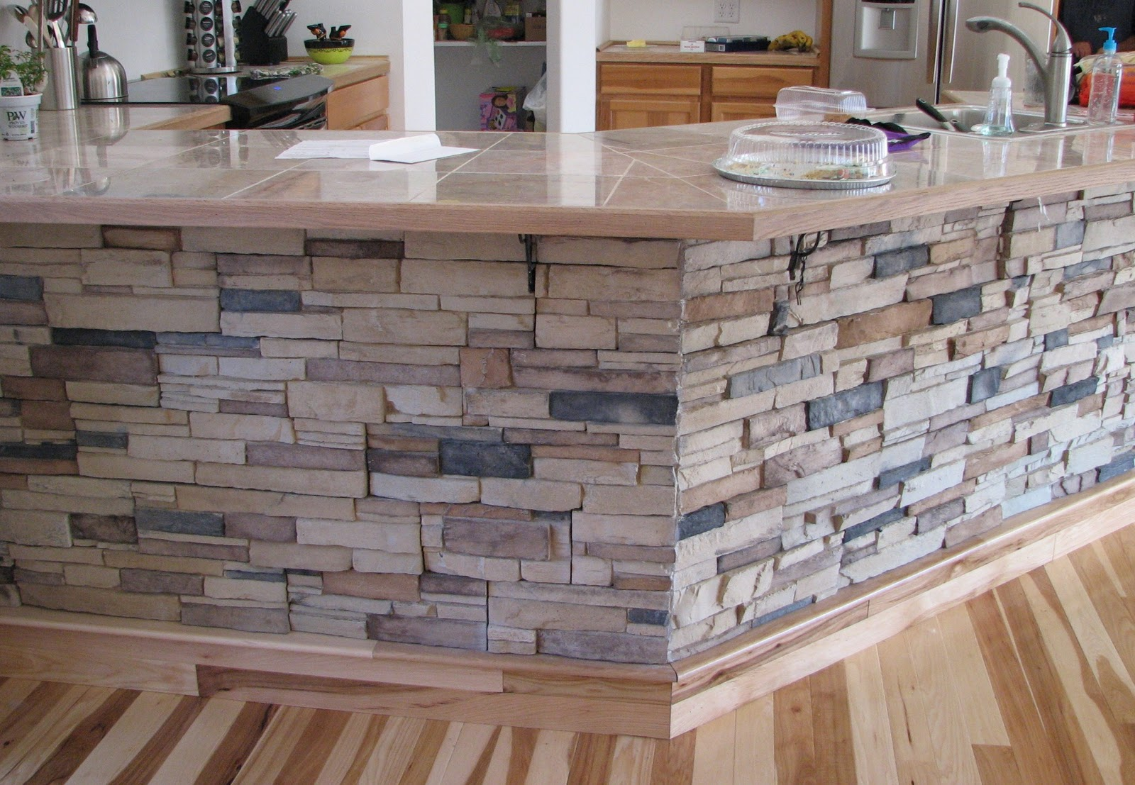Product reviews stack n tack tm stone veneer siding for Bar front ideas