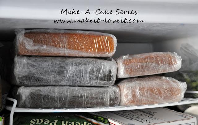 Why Make Cake Layers Days Before Wedding