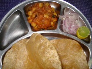 PuriChanna Poori Chana