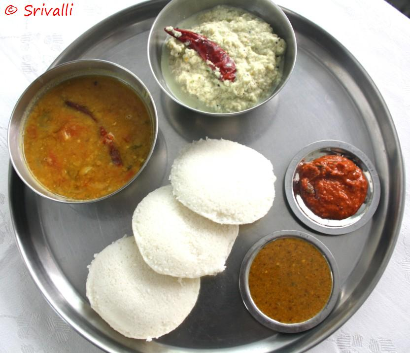 Traditional breakfast typical south indian style 2 forumfinder Image collections