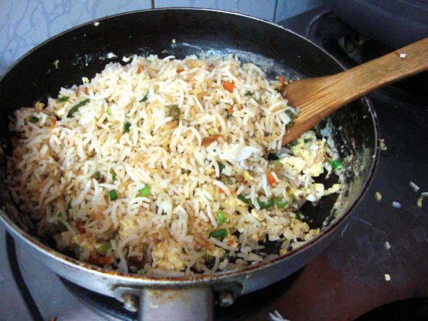 Egg Fried Rice Recipe | How to make Egg Fried Rice | Step By Step ...