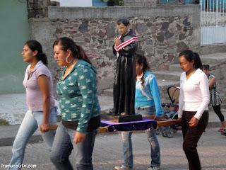 Día  de san Pascual Bailón en iramuco