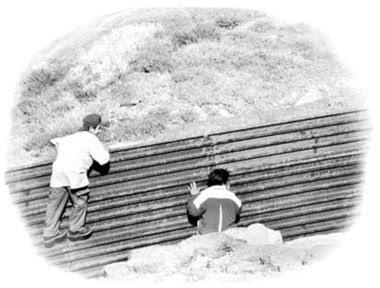 migrantes la frontera