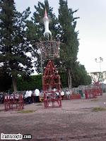 Castillo en el dia de San Jerónimo 2009