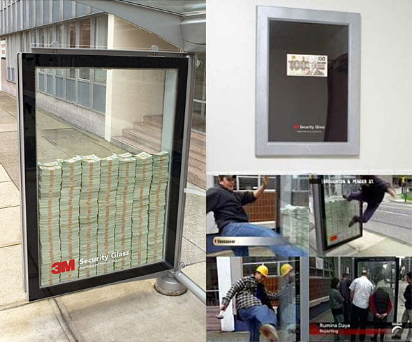 Million Dollars In Bullet Proof Glass Broken