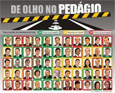 DE OLHO NO PEDÁGIO