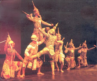 Khon or Thai pantomime