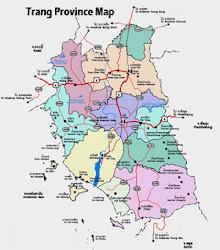 Map of Trang